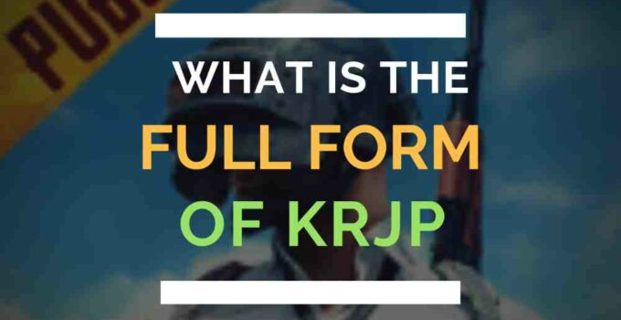 Full Form of KRJP