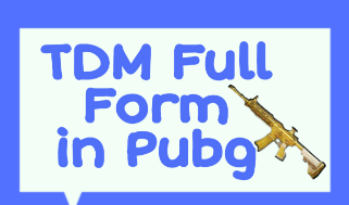 TDM Full Form in Pubg? TDM Tips & Tricks and Benefits