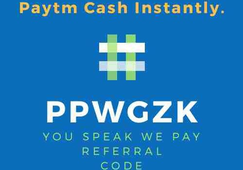 U Speak We Pay Referral Code