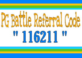 PG Battle Referral Code