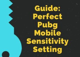 Best Sensitivity Setting for Pubg Mobile