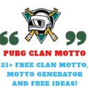 Pubg Clan Motto