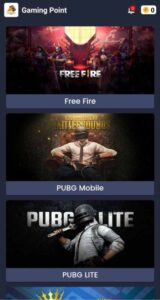 Gaming Point Apk Free Fire