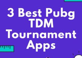 Pubg TDM Tournament App