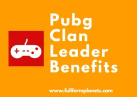 Pubg Clan Leader Benefits