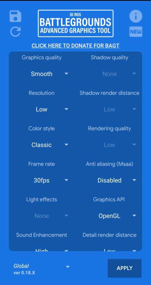 Best GFX Tool for Redmi Note 5 Pro