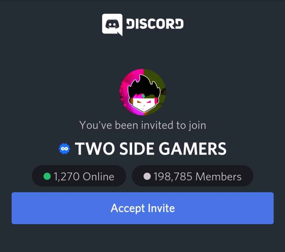 Two Side Gamers Discord Link