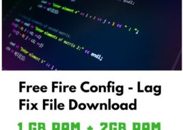 Free Fire Config File Download