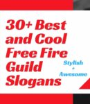 Free Fire Guild Slogan
