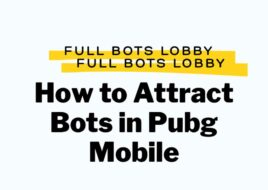 How to Attract Bots in Pubg Mobile