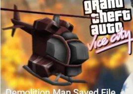 GTA Vice City Demolition Man Save File